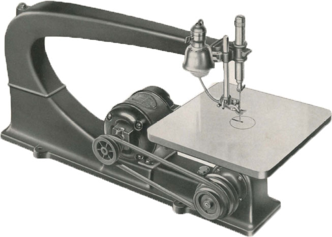 1937 Delta De-Luxe 24&quot; Scroll Saw