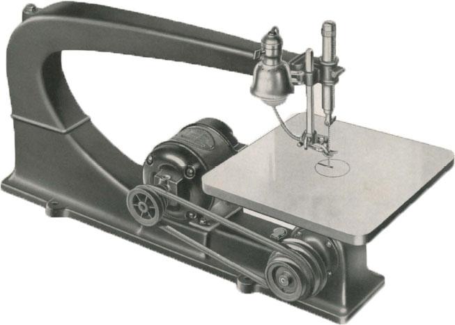 """1937 Delta De-Luxe 24"""" Scroll Saw"""