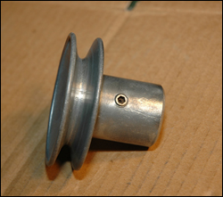 34-500 Combo Motor Pulley for Jointer