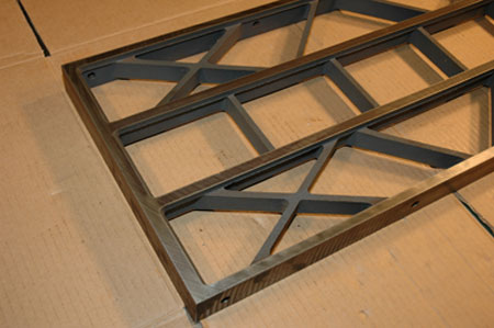 Craftsman Cast Iron Extension Wing