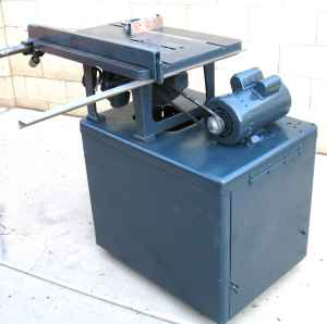 Boice Crane Model 2500 Table Saw