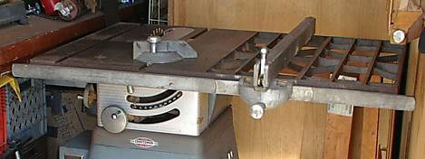 Craftsman Table Saw Model 113.27520