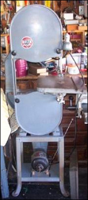 Delta Band Saw 1945