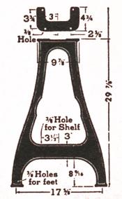 Delta Lathe Stand No. 1463