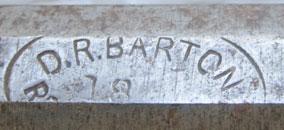D.R. Barton Logo