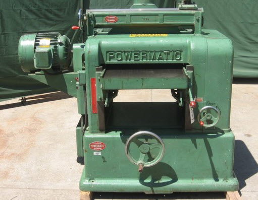 Powermatic 20 Planer Model 209