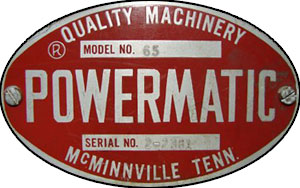 Powermatic Badge