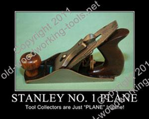 Stanley No. 1 Plane Print