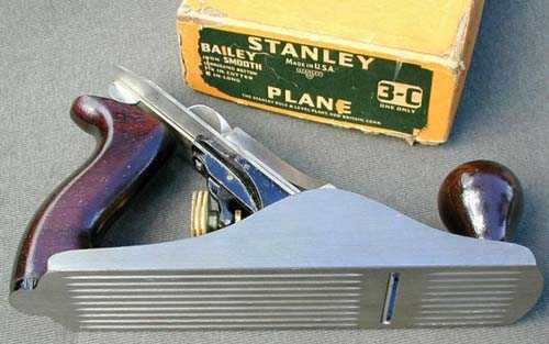 Stanley No. 3C Corrugated Bottom Plane