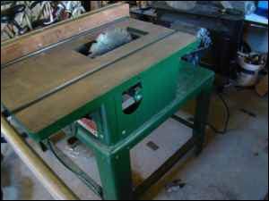 Boice Crane Table Saw