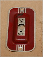 Delta 34-500 8 Inch Table Saw Switch Cover