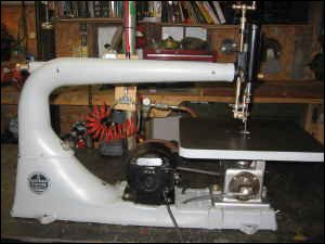 Walker-Turner Scroll Saw
