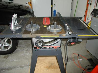 "10"" Craftsman Table Saw Model #113.298142"