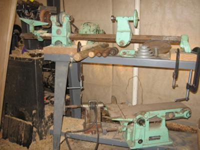 Walker-turner add a tool lathe with some of the add ons