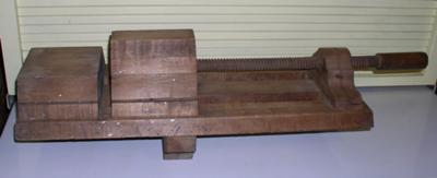Antique All Wooden Vice