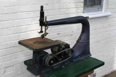 Antique Scroll Saw