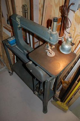 Antique Delta Sroll Saw
