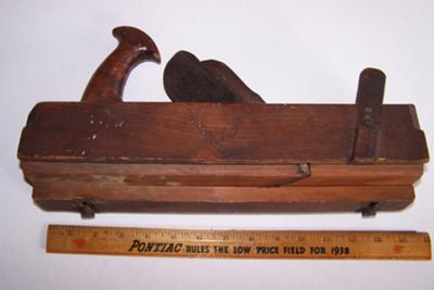 Antique Wheaton Plane