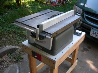 Craftsman 103.22160 Table Saw 8