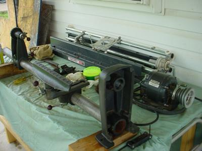 craftsman wood lathe 36