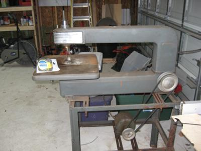 vintage scroll saw