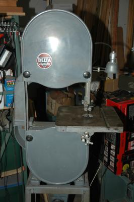 delta 14 band saw 1947 before