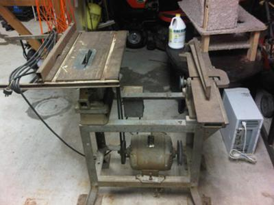 Delta Table Saw with Jointer Planer