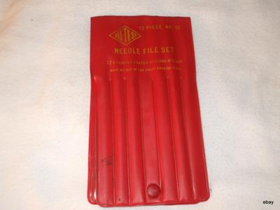 Hi Test 12 piece Needle file set