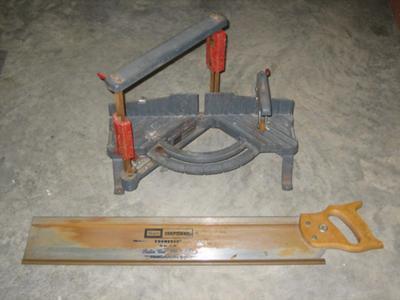 Miter box model 881.3630