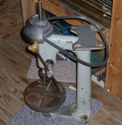 Nice Old Drill Presll --- Manufacturer?
