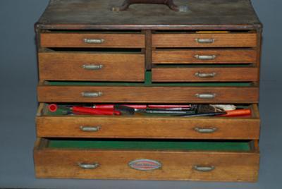 Oak Machinist Chest Craftsman