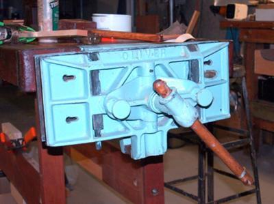 Oliver Cabinet Makers Vise