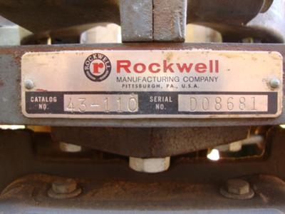 Rockwell 43-110 shaper/router