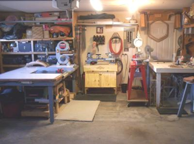 Table Saw with Bench