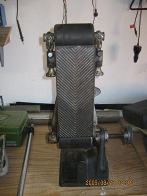 Bench Model Belt Sander