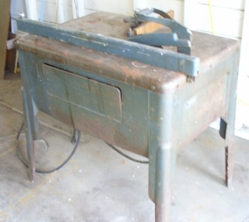 Old Table Saw  Model No. 109.22620