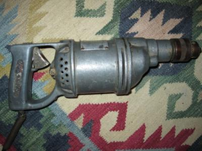 Vintage Antique Craftsman Electric Drill