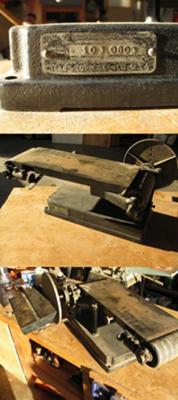 Vintage Craftsman Belt Disc Sander