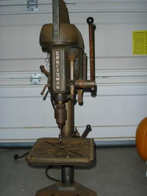 Value Of Antique Drill Press for Pinterest