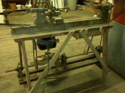 Vintage Delta Dual Wood/metal lathe