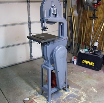 14 Inch Bandsaw Built In 1945 Milwaukee Delta