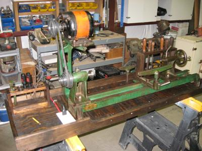 1933-34 Walker Turner 124-B Woodworking Lathe