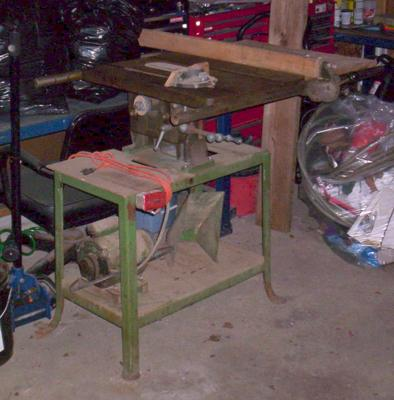 Antique Delta Table saw