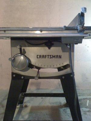 Craftsman 10'' Table Saw - Model No. ?