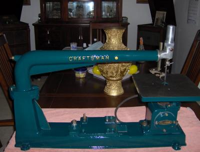 Classic Craftsman Scroll Saw Restoration