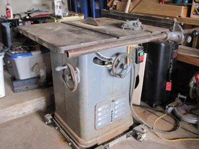 Delta 10 Quot Table Saw Rh Tilt