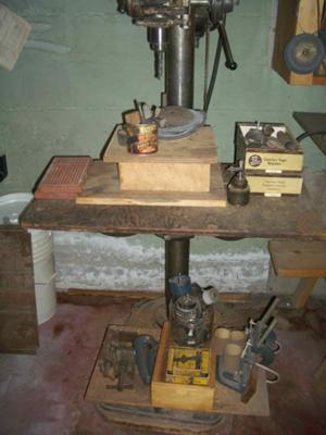 Delta Drill Press Model No. 13-5498