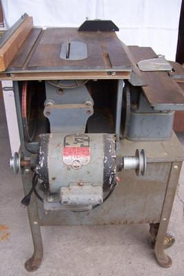 Delta Combination 34-500 Table Saw and 4