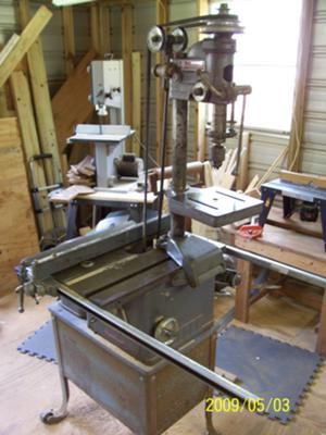 Delta Milwaukee DeltaShop - Combo Saw, jointer, drill press