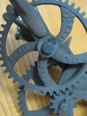 Hand Crank Bench Grinder Circa 1900